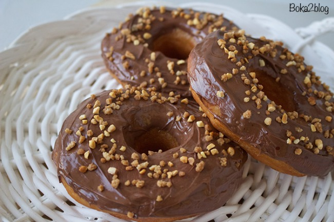 Donuts Nutella