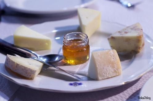 Surtido de quesos