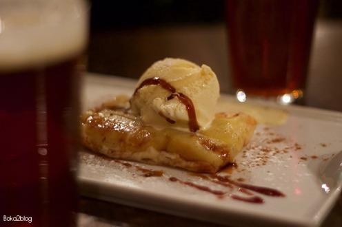 Fogg Bar Tatín manzana y helado vainilla